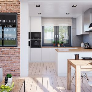 Dom w śliwach (G2) – kolekcja: projekty domów nowoczesnych ARCHON+