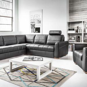 Kanapa narożna i fotel z kolekcji Orso. Fot. Etap Sofa