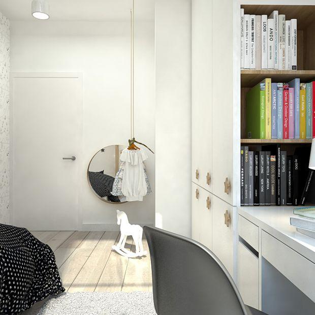 Pokój dla dziewczynki w skandynawskim stylu