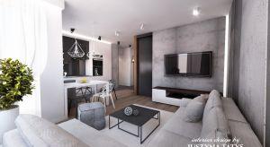 Mieszkanie we Wrocławiu urządzono w stylu nowoczesnym. Zobaczcie gotowy projekt.