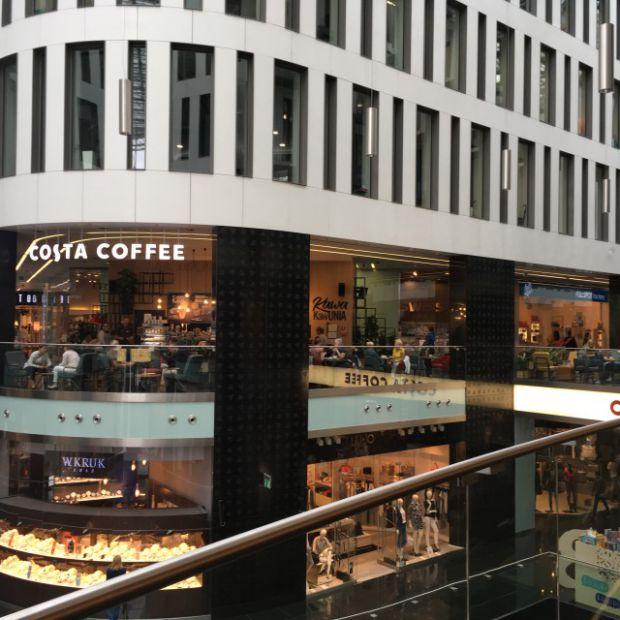 Costa Coffee w warszawskim centrum w designerskim stylu