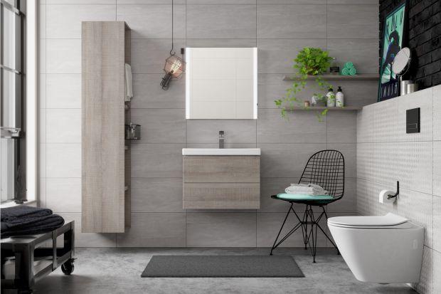 Łazienka w stylu eko - nowoczesne wyposażenie