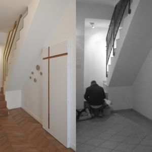Mieszkanie przed i po remoncie. Fot. tissellistudioarchitetti