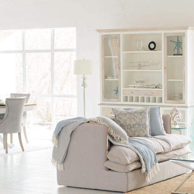 Dekoracja wnętrza: wybierz tkaniny z lnu i bawełny