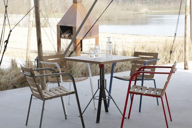 Meble na taras i do ogrodu - krzesła w stylu holenderskim