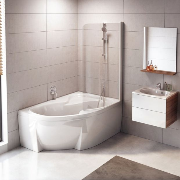 Nowości do łazienki: umywalki imeble w duchu minimalizmu
