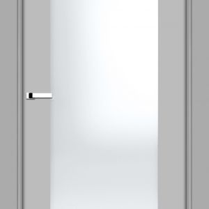 MALOWANE Jasny szary DERBY - szyba. Fot. Inter Door