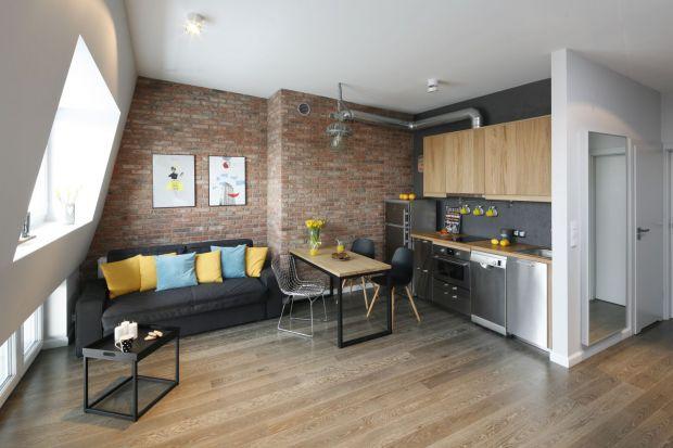 Małe mieszkanie - zobacz projekt na 45 metrów