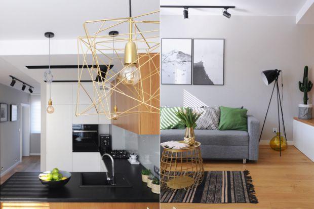 Minimalistyczne mieszkanie w wiosennej odsłonie
