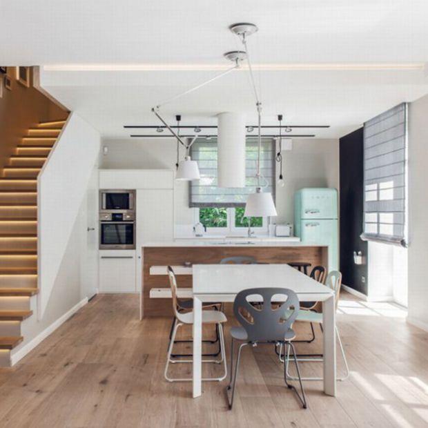Kuchnia w stylu skandynawskim - gotowy projekt
