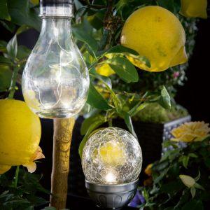 Lampy solarne, cena: ok. 14,99zł. Fot. KiK