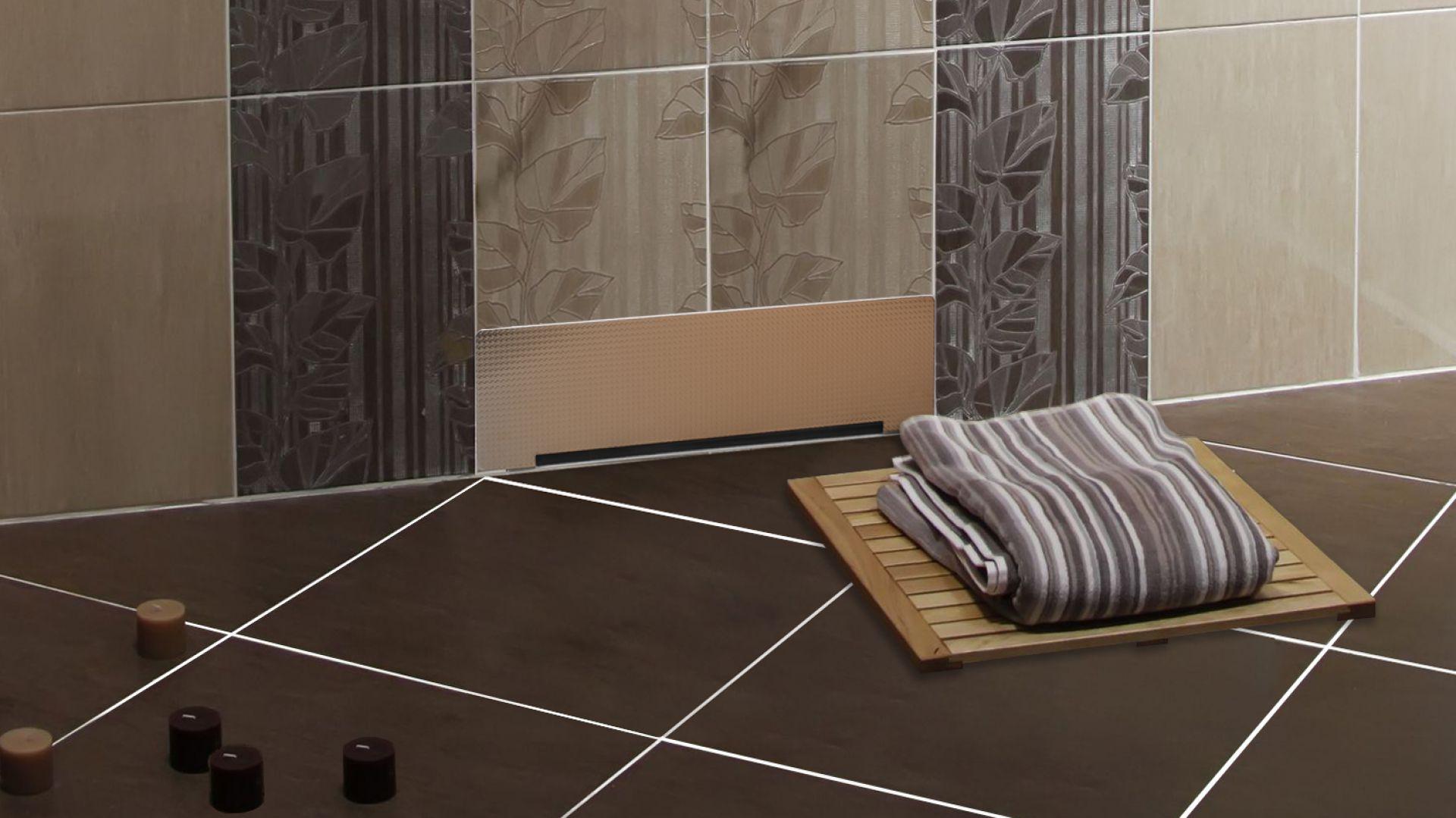 Nowoczesna łazienka Pomysły Na Prysznic Z Odpływem