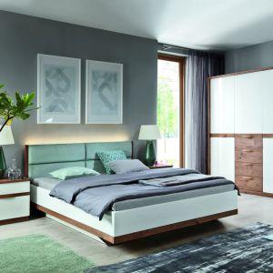 Sypialnia Como zachwyca elegancją i świeżością. Fot. Taranko