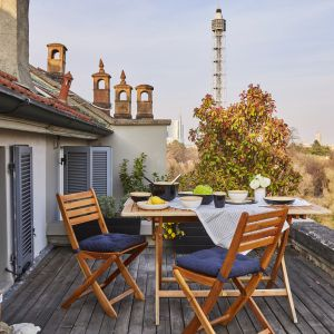 Urlop na balkonie. Fot. Westwing