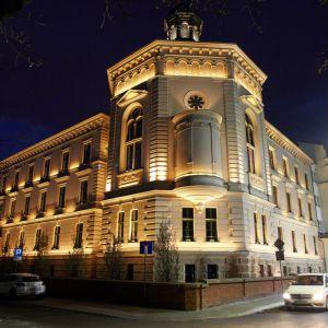 Po odrestaurowaniu zabytkowych budynków i dobudowaniu nowej bryły powstał krakowski kompleks Angel Wawel, jeden z najbardziej prestiżowych adresów w kraju. Fot. materiały prasowe