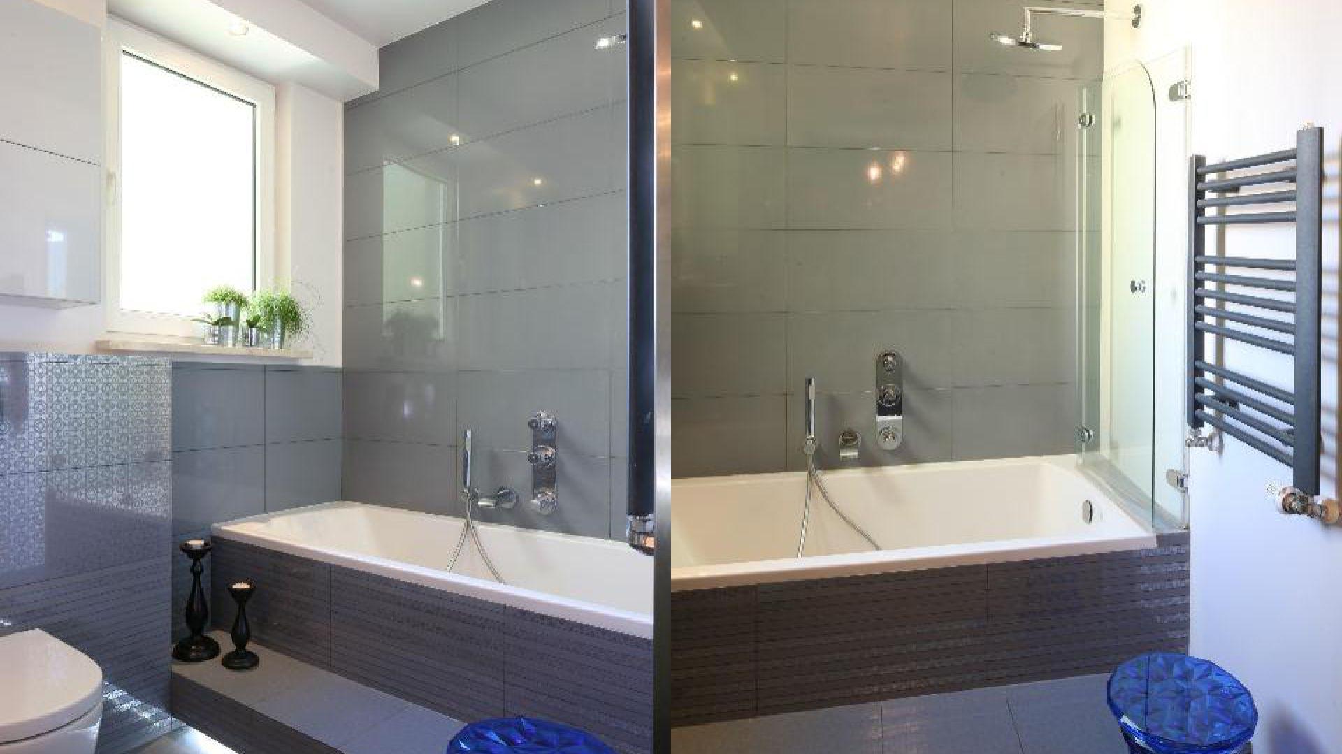 Mała łazienka Wybierz Wannę Z Parawanem