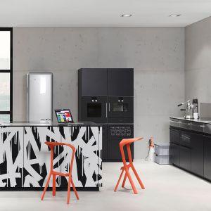 Dzięki możliwości dowolnej kreacji brył oraz dekoracyjnym frontom, kuchnię NEO można dopasować do indywidualnych potrzeb i metrażu. Fot.  Nolte Küchen