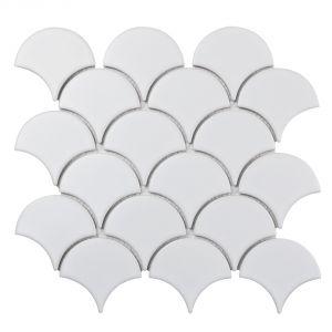 Mozaika Matte White. Fot. Raw Decor