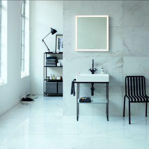 Umywalka Durasquare z metalową konsolą/Duravit. Produkt zgłoszony w konkursie Dobry Design 2018