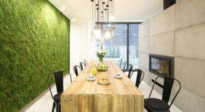 Zielona ściana z roślin doniczkowych albo prawdziwego mchu to hit tego sezonu. Zobaczcie jak zaaranżować wnętrze z żywą zielenią.