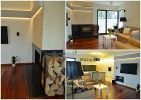 Apartament Brzozowa Aleja - salon