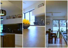 Apartament Brzozowa Aleja - aneks kuchenny
