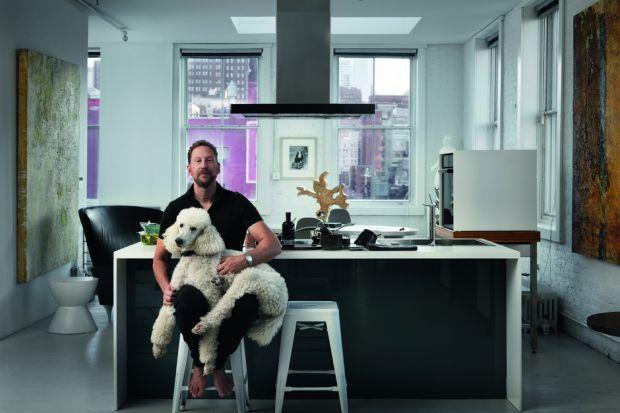 Projektant Jeffrey Goodman - dobre wzornictwo ceni także w kuchni