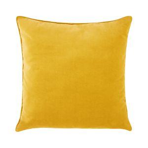 Poduszka Velvet żółta. Fot. Black Red White