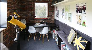 Domowe biuro, gabinet czy chociażby kącik pracy potrzebny jest w każdym mieszkaniu. Nie tylko gdypracujemy w domu.