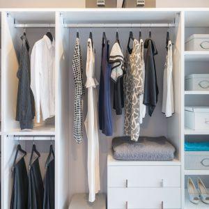 Funkcjonalna garderoba, to taka w której jest miejsce na wszystko. Fot. Gamet