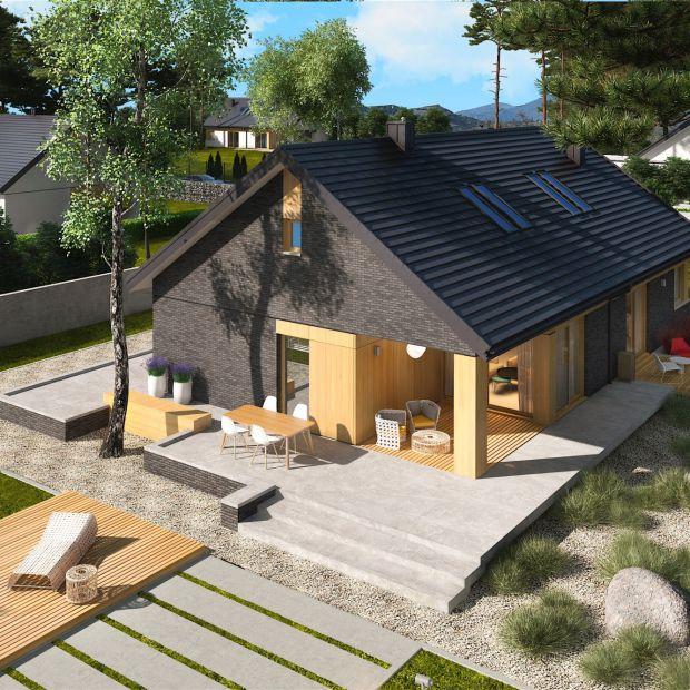 Przytulny dom z atrakcyjną antresolą. Prezentujemy projekt i wnętrza
