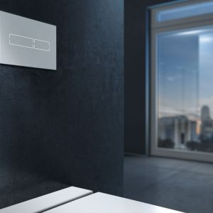 Praktyczna łazienka: wybieramy przyciski spłukujące. Fot. TECE