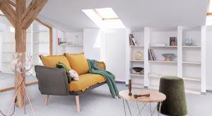 Lekki, komfortowy mebel, który wręcz zaprasza, by zwinąć się nad nim pod miękkim pledem z książką lub kubkiem herbaty jest niezbędny w każdym salonie.
