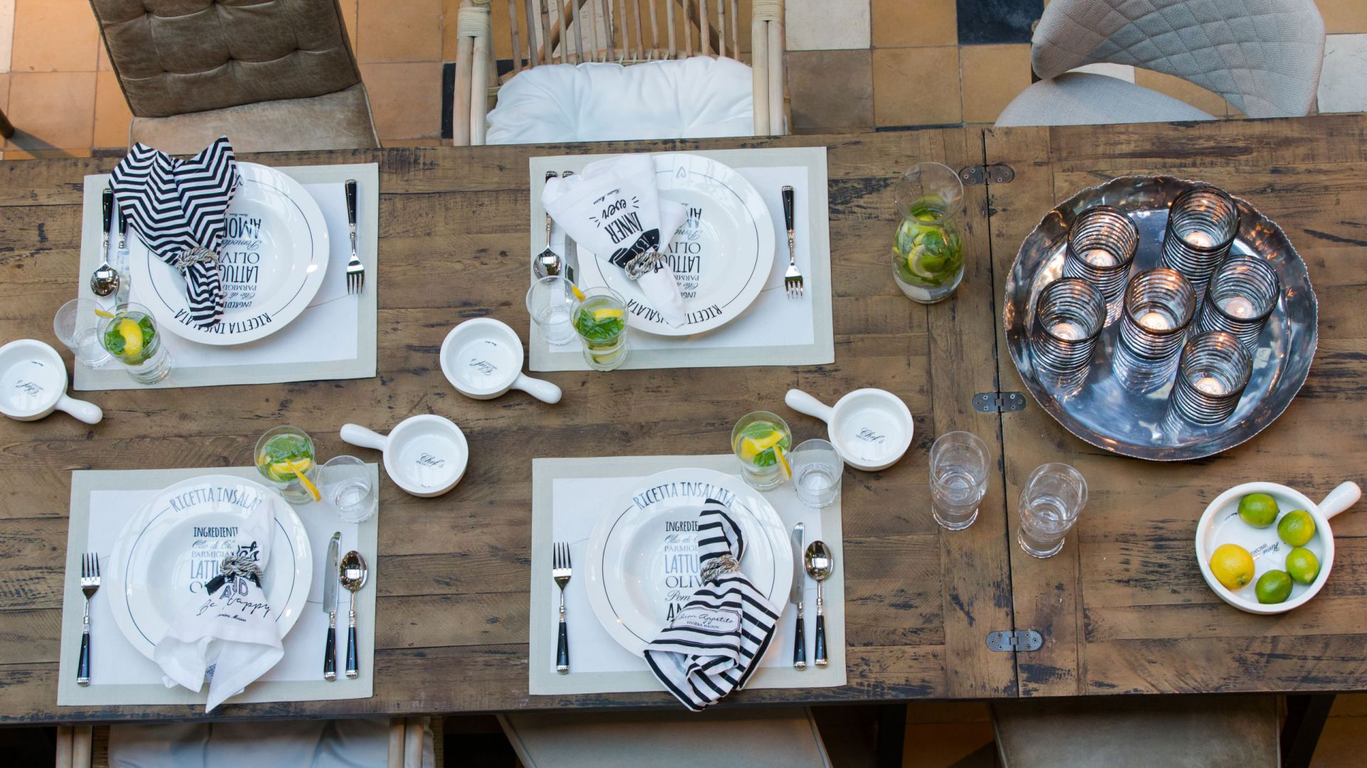 5b50eea2efae9 Zastawa stołowa Riviera Maison na przyjęcie w ogrodzie. Fot. House&more