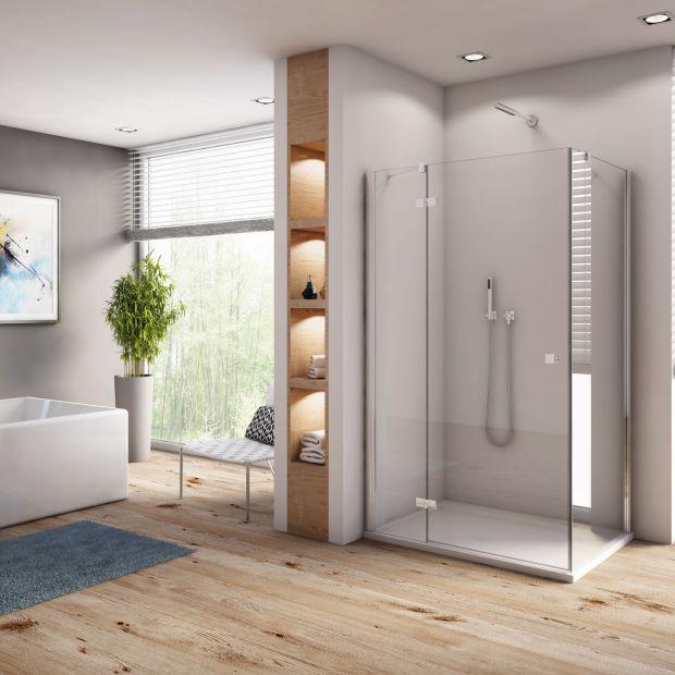 Łazienka z prysznicem: 12 komfortowych kabin