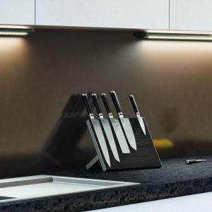 Oświetlenie LED w kuchni. Fot. Hafele