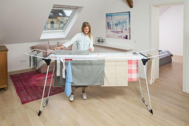 17 nowych modeli suszarek na pranie pojawiło się w ofercie marki Vileda. Nowe produkty sązróżnicowane pod względem funkcjonalności, rozmiarów i przeznaczenia.
