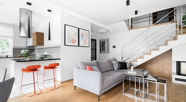 Piękny apartament: połączenie nowoczesności i sztuki