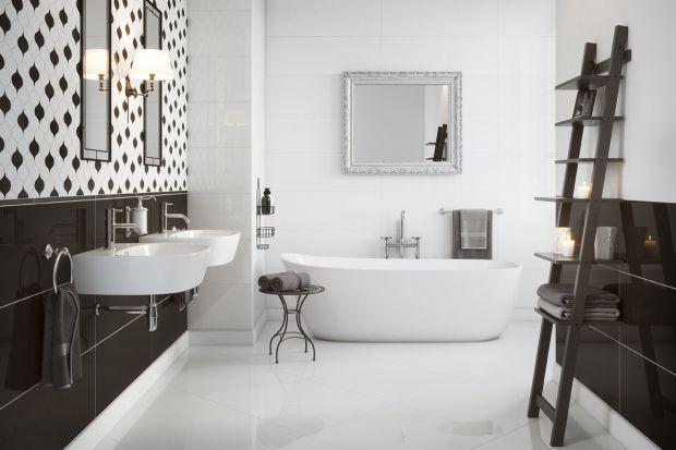 Biała łazienka: eleganckie kolekcje płytek