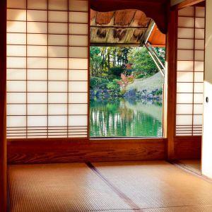 Minimalistyczne wnętrze w japońskim stylu. Fot. Franc Gardiner