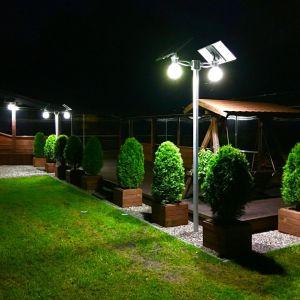 Wykorzystanie OZE - lampy solarne. Fot. FreeVolt