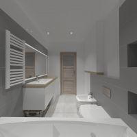 Wizualizacja łazienki w Kowalach Oleckich
