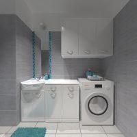 Wizualizacja toalety z funkcją pralni w Krakowie