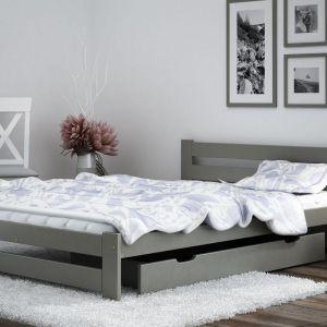 Łóżko Kada w kolorze szarym. Fot. Meble Magnat