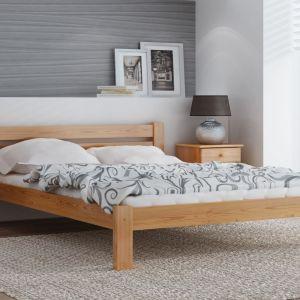 Łóżko Azja w kolorze olchy. Fot. Meble Magnat