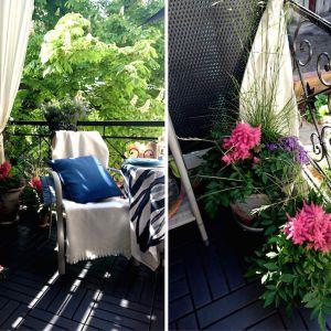 Aranżacja balkonu w mieście. Fot. Bondex/Pani to potrafi