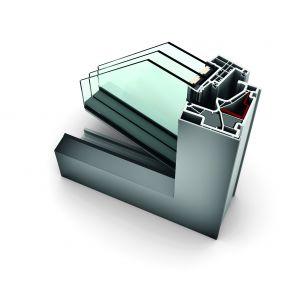 Okna PCV-aluminiowe KF 500/Internorm. Produkt zgłoszony do konkursu Dobry Design 2018.