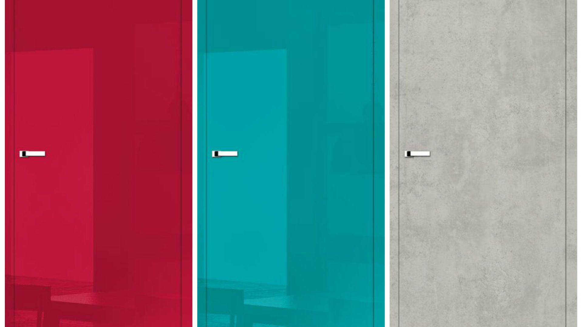 Drzwi do wysokich pomieszczeń. Fot. Inter Door