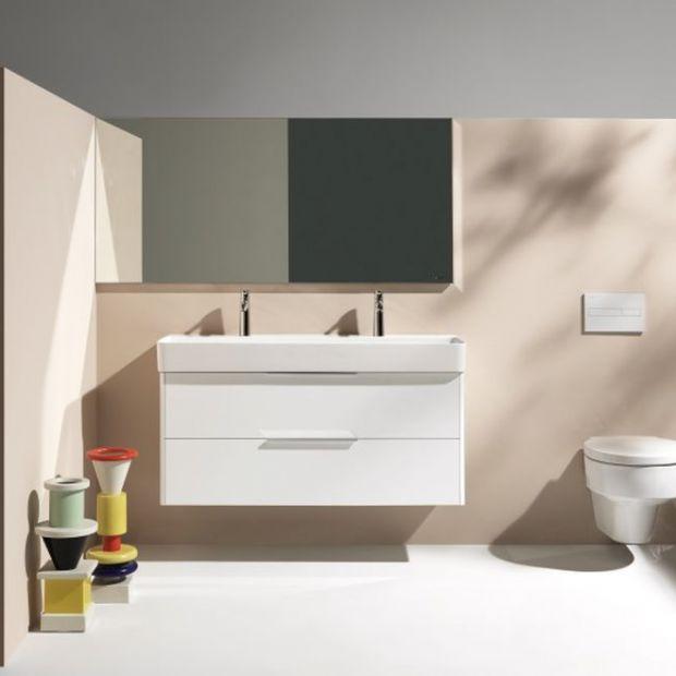 Łazienka dla dwojga - nowa umywalka z designerskiej serii