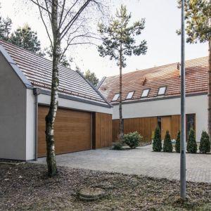 Tynk na elewacji: dom jednorodzinny - Drwesa. Fot. Baumit